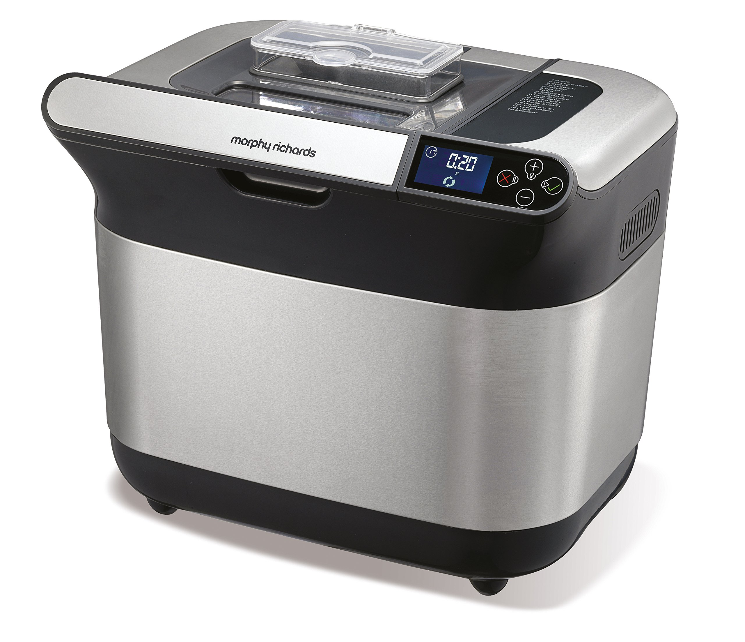 Morphy Richards - 48319 - Machine à pain, 600 watts, Argent product image