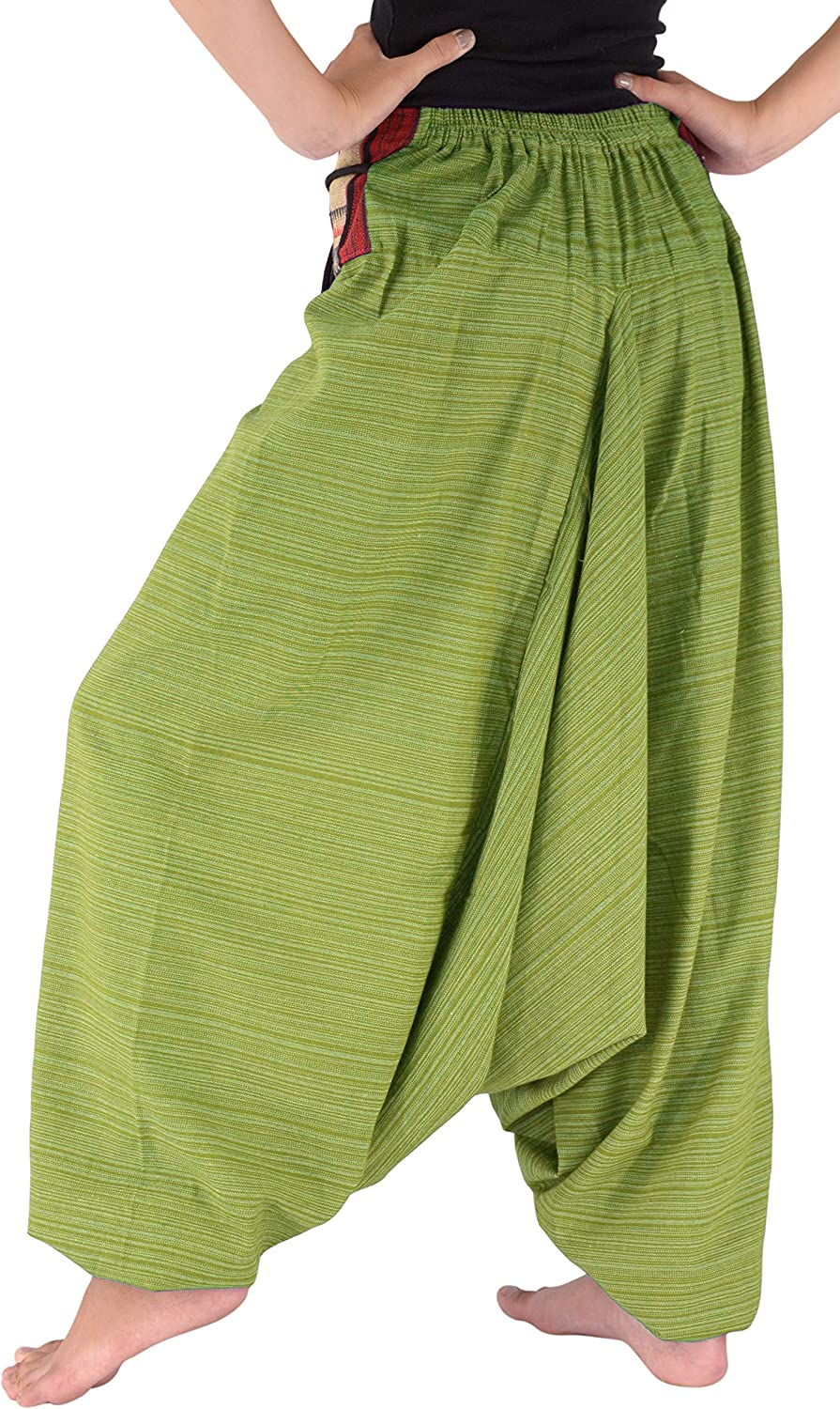 Bjelly Traditional Loose Harem 100/% Cotton Pant Unisex