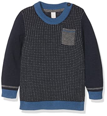 eb00df82db Esprit Kids Baby-Jungen Pullover Pulli, Blau (Marine 043), 80 ...
