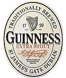 Guinness Genuine Leather Shamrock Bracelet