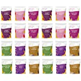 Rollin' n Bowlin' Frozen Fruits and Veggies Smoothie Mix Variety Pack - Healthy Snack - Fan Favorites Flavors Variety Pack -