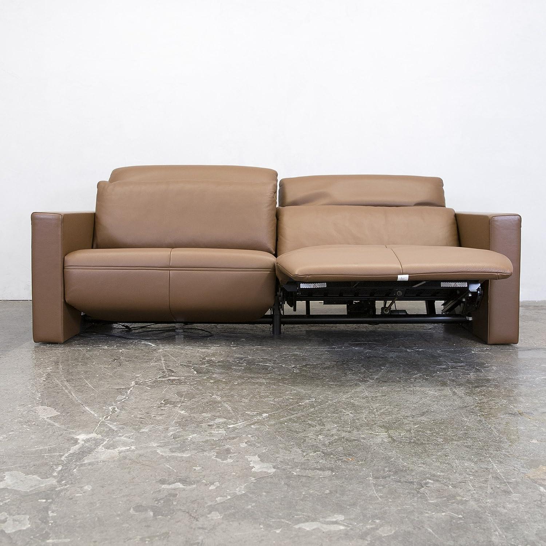 Bemerkenswert Couch Relaxfunktion Das Beste Von Conceptreview: Fsm Moto Leder Sofa S Braun