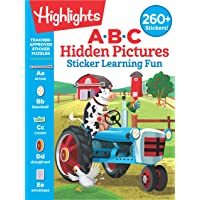 ABC Hidden Pictures Sticker Learning Fun