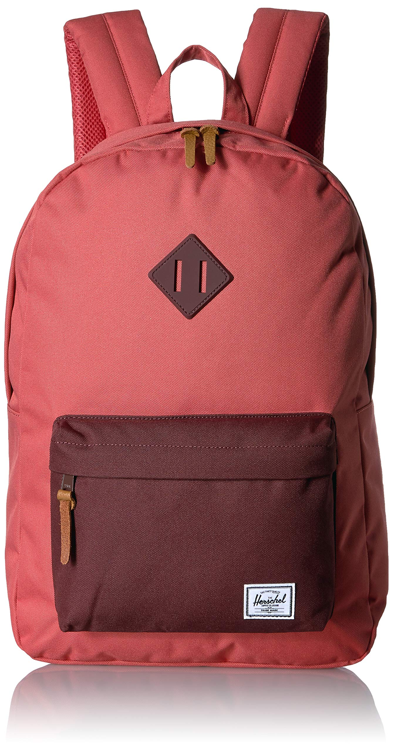 Herschel Heritage Backpack, Mineral Red/Plum, One Size