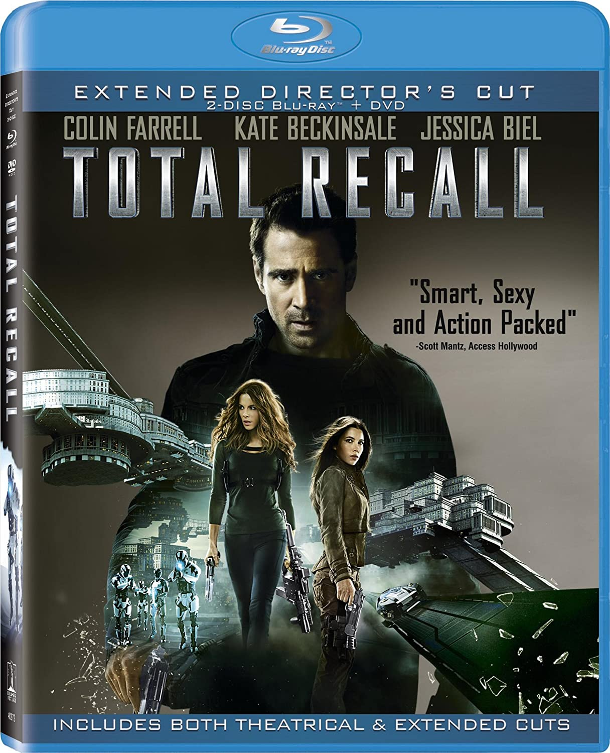 Total Recall 2012 EXTENDED BluRay 720p 700MB ( Hindi – English ) ESubs MKV