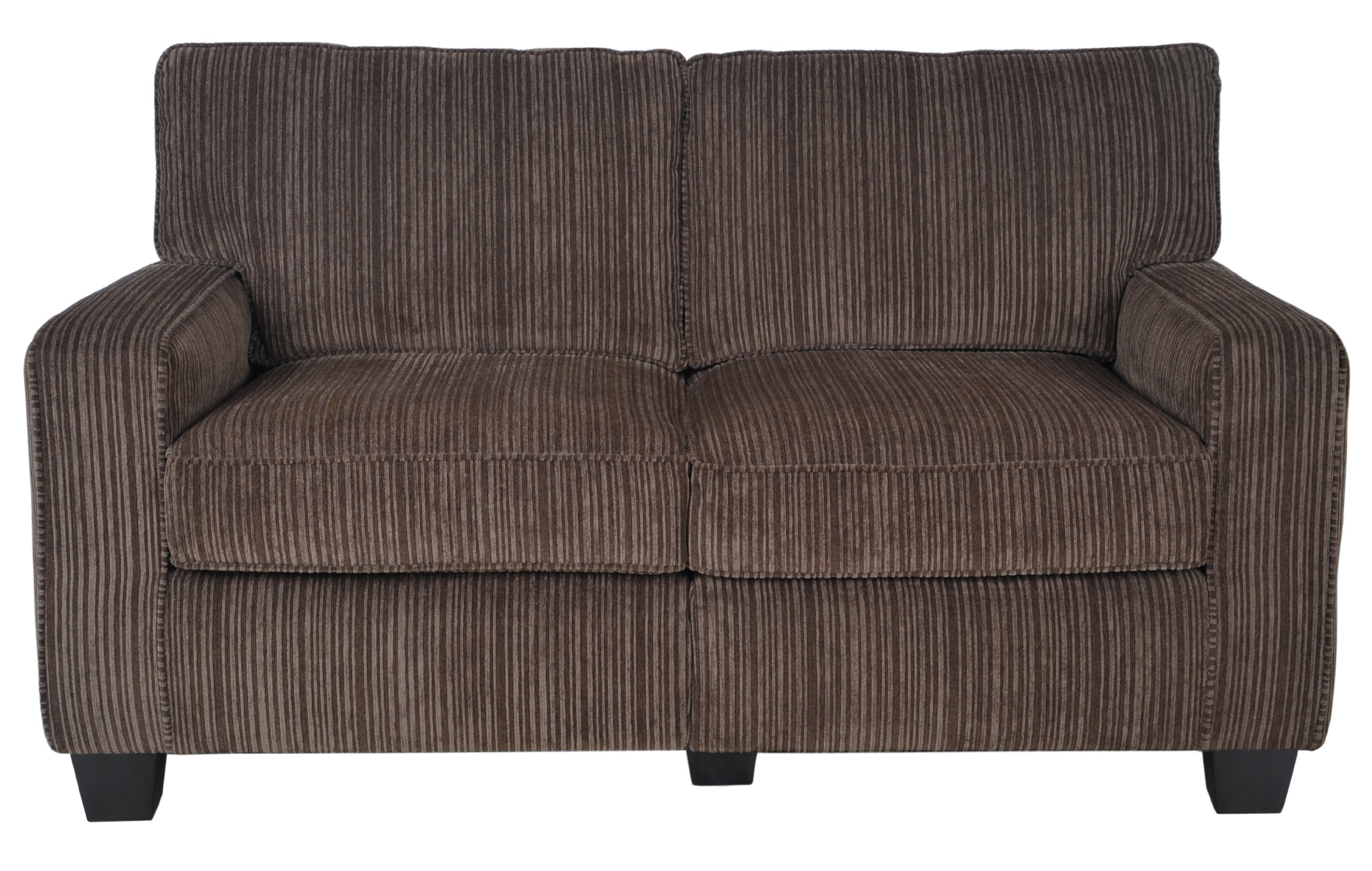 Serta RTA Palisades Collection 61'' Loveseat in Riverfront Brown by Serta (Image #4)