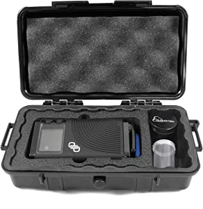 Cloudten Smell Odor Resistant Carry Case Designed for Boundless CFX, Pods, Cleaning Tools, USB Cable Charger , IncludesGrinder and Canister