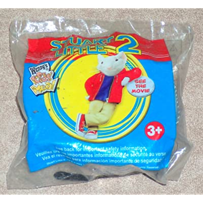 WENDY'S Kid's Meal ~ STUART LITTLE 2 ~ Snowbell's Feast ~ 2002