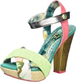 Irregular Choice Women's shoop Ankle Strap Sandals