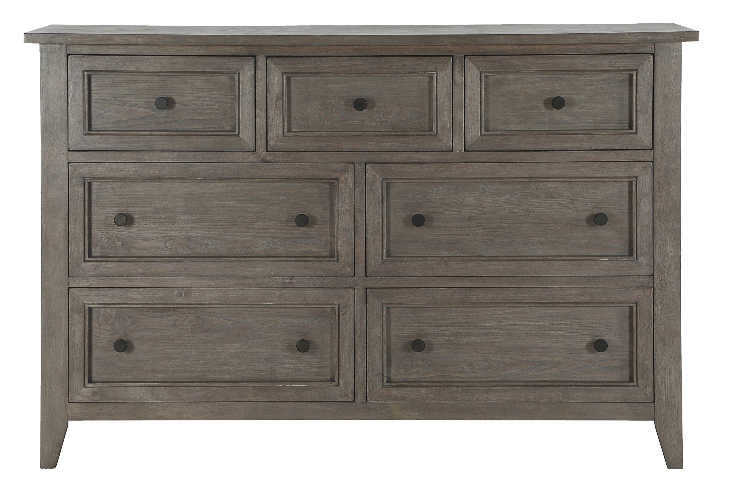 Magnussen B3744-20 Talbot 7 Drawer Dresser, Driftwood