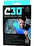 C30Sport Tablettes Nettoyant Désinfectant élimine Les odeurs de Transpiration, bactéries, germes Désodorisant antibactérienne Hygiène Lessive, Black/Blue, 12