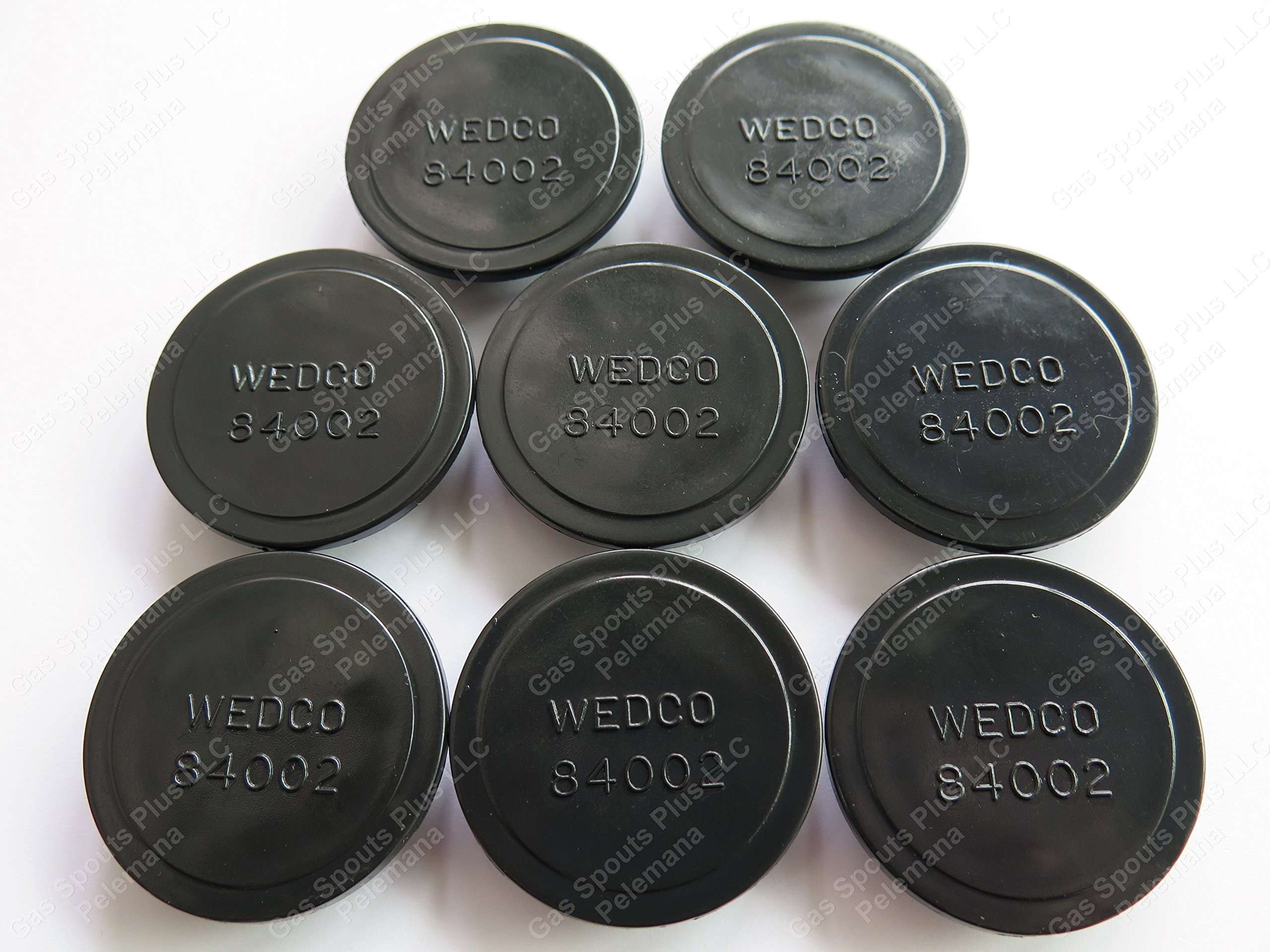 8-Pack WEDCO Seal Stopper Discs 84002 AUTHENTIC GENUINE BRIGGS & STRATTON REPLACEMENT PART - Hard to Find - ''FIX YOUR CAN'' Gas, Kerosene, Diesel Gallon Jugs for Storage & Transportation Stopper Discs