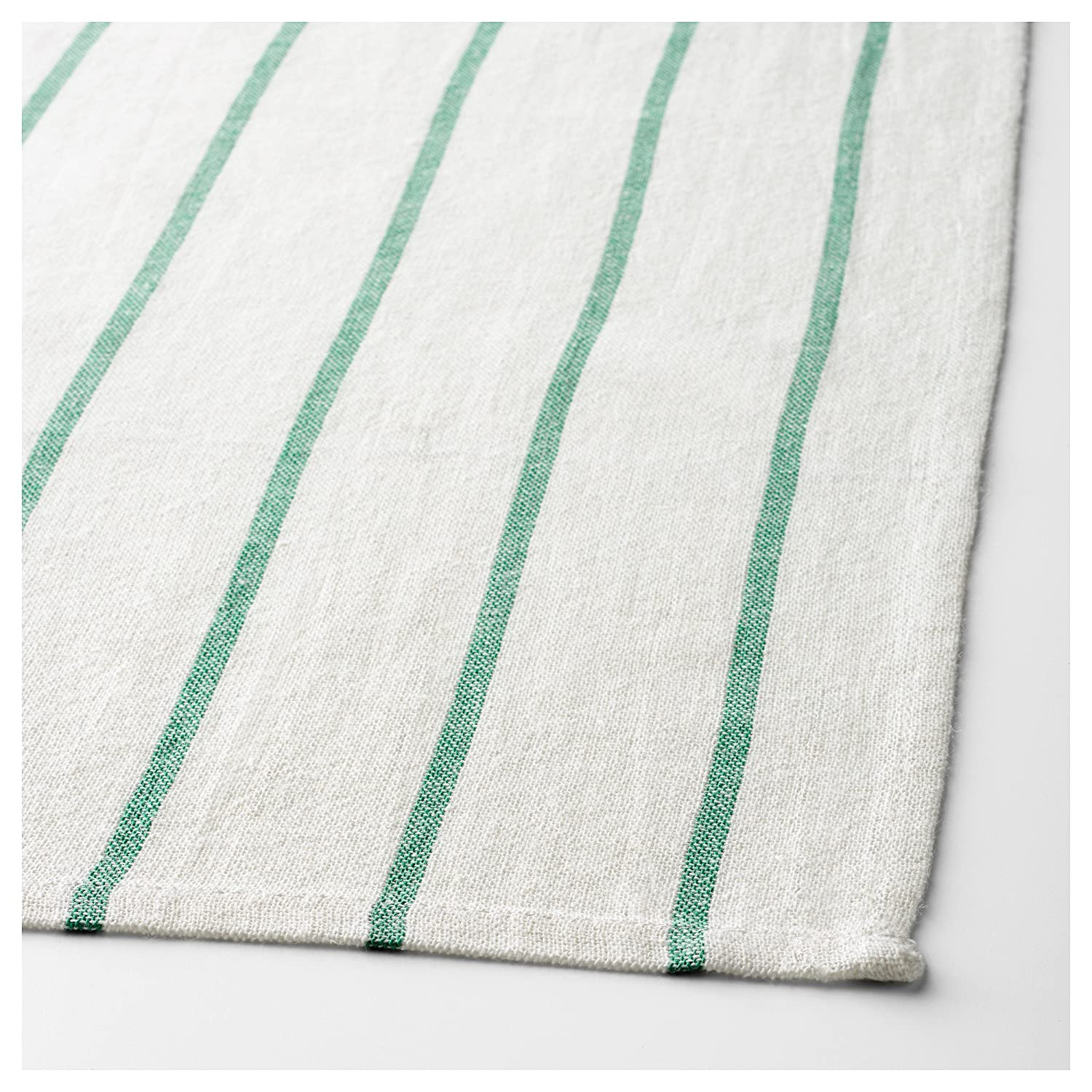 Ikea Kitchen Towels Hanging Loops 8 Pack Green Cotton 20 X 26