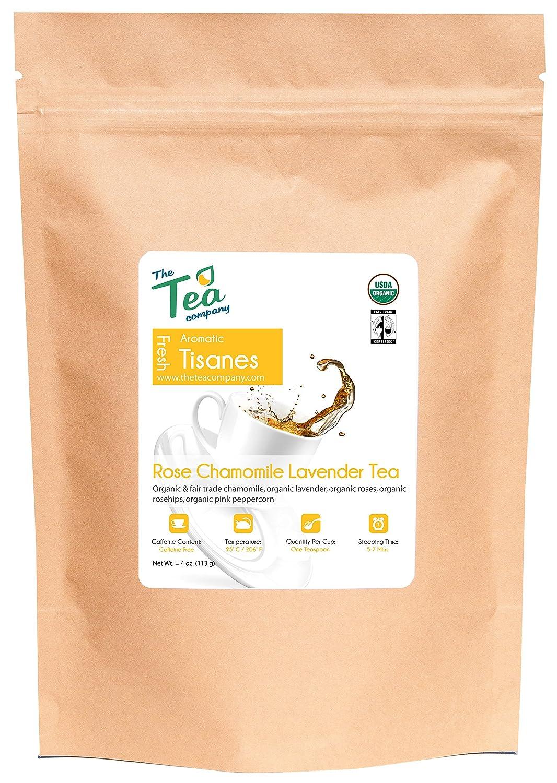 Organic Rose Chamomile Lavender Tea