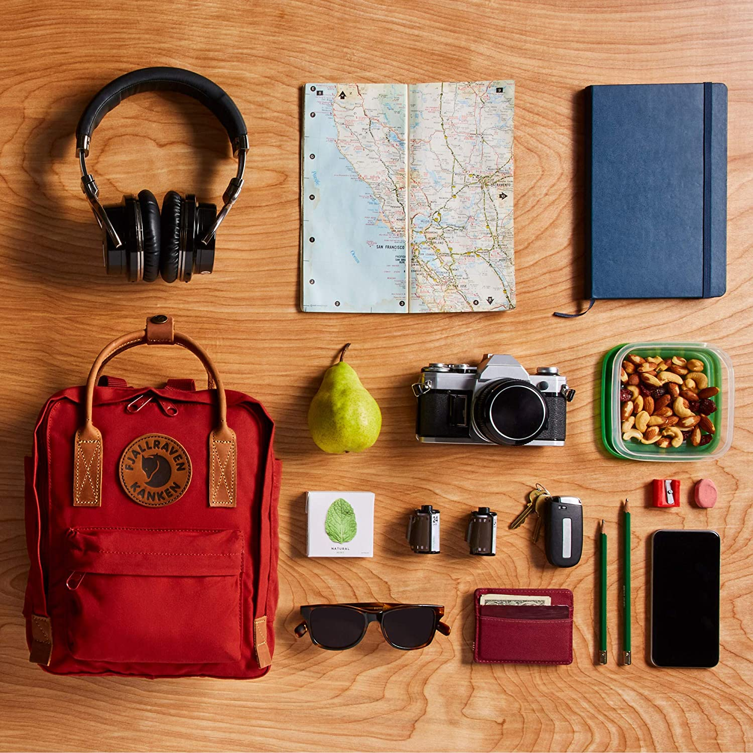 Fjallraven 2 Mini Backpack for Everyday Use and Travel Kanken No