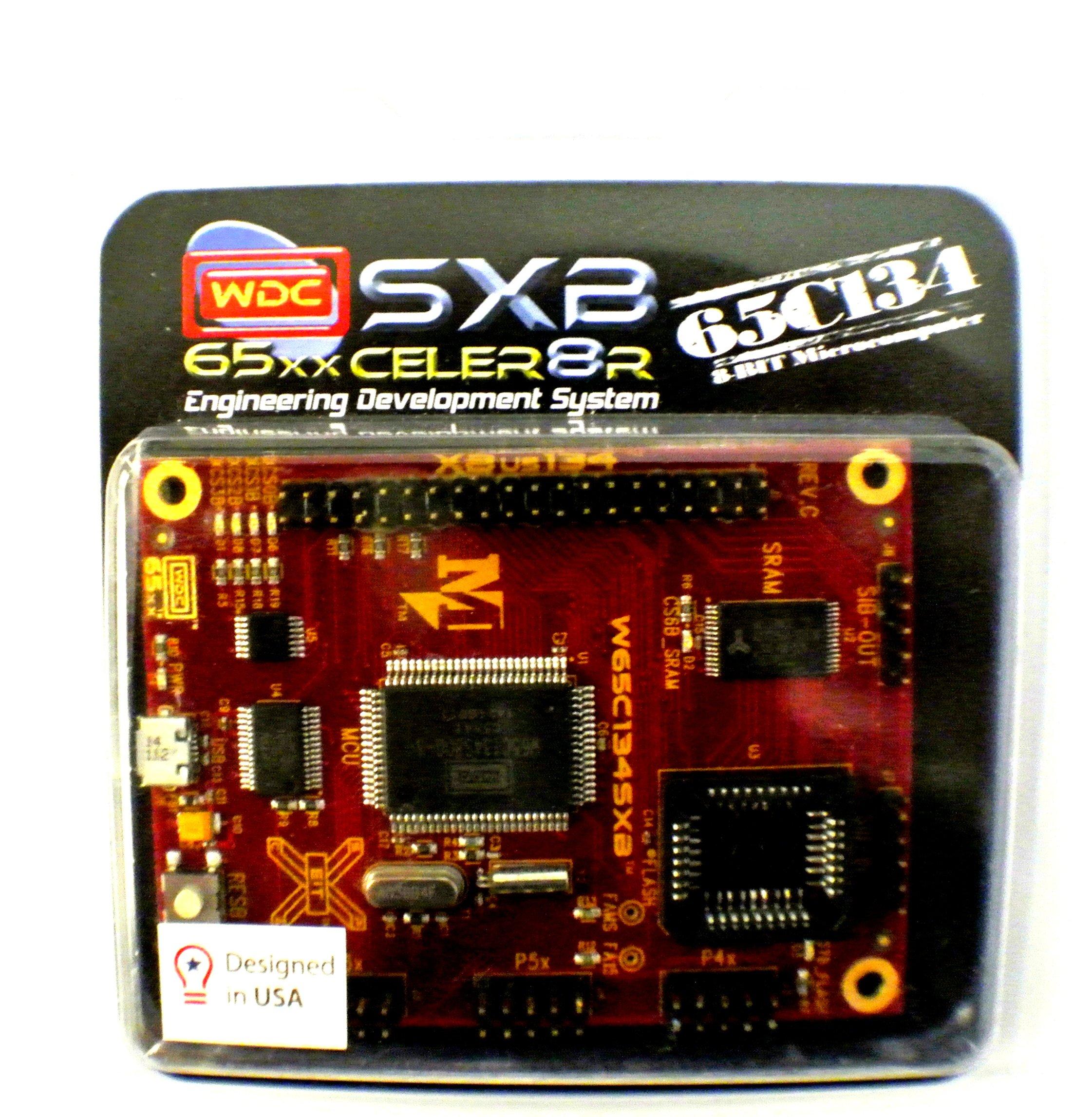 W65C134SXB - Sistema de desarrollo de ingeniería WDC Xxcelr8r - Placa con la microcomputadora W65C134S de 8 bits