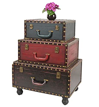 ts-ideen - Suitcase chest cabinet cupboard, antique used vintage ...