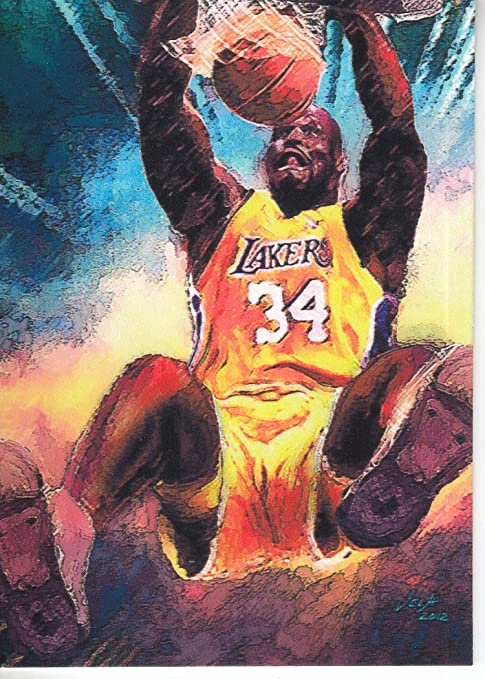 0575fbd76e5 RARITIES COLLECTION - EDWARD VELA - SHAQUILLE O NEAL  1 Los Angeles Lakers -