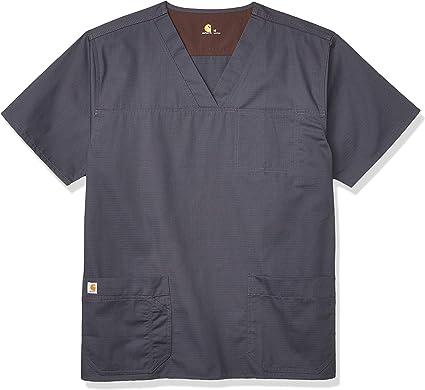 Carhartt - Camisa médica para Hombre Peltre Oscuro. XL: Amazon.es: Ropa y accesorios