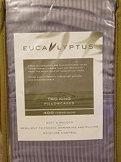 1fcf8e68e134 Eucalyptus Origins ™ ™ 100% Tencel Lyocell 400-Thread-Count Silver Striped  King