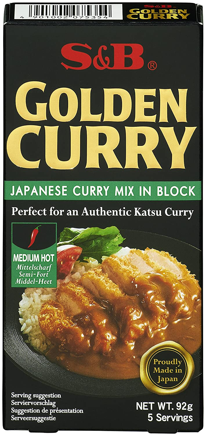 S And B Golden Curry Sauce Mix 100 G Pack Of 3