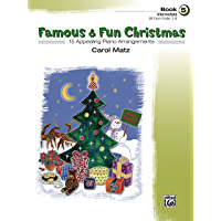 Famous & Fun Christmas, Book 5: For Intermediate Piano book cover