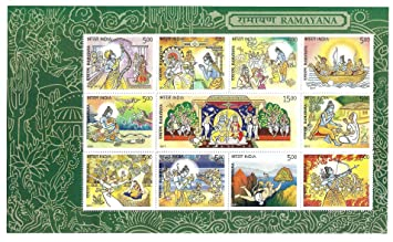 Ramayana Miniature Sheet for Stamp Collection