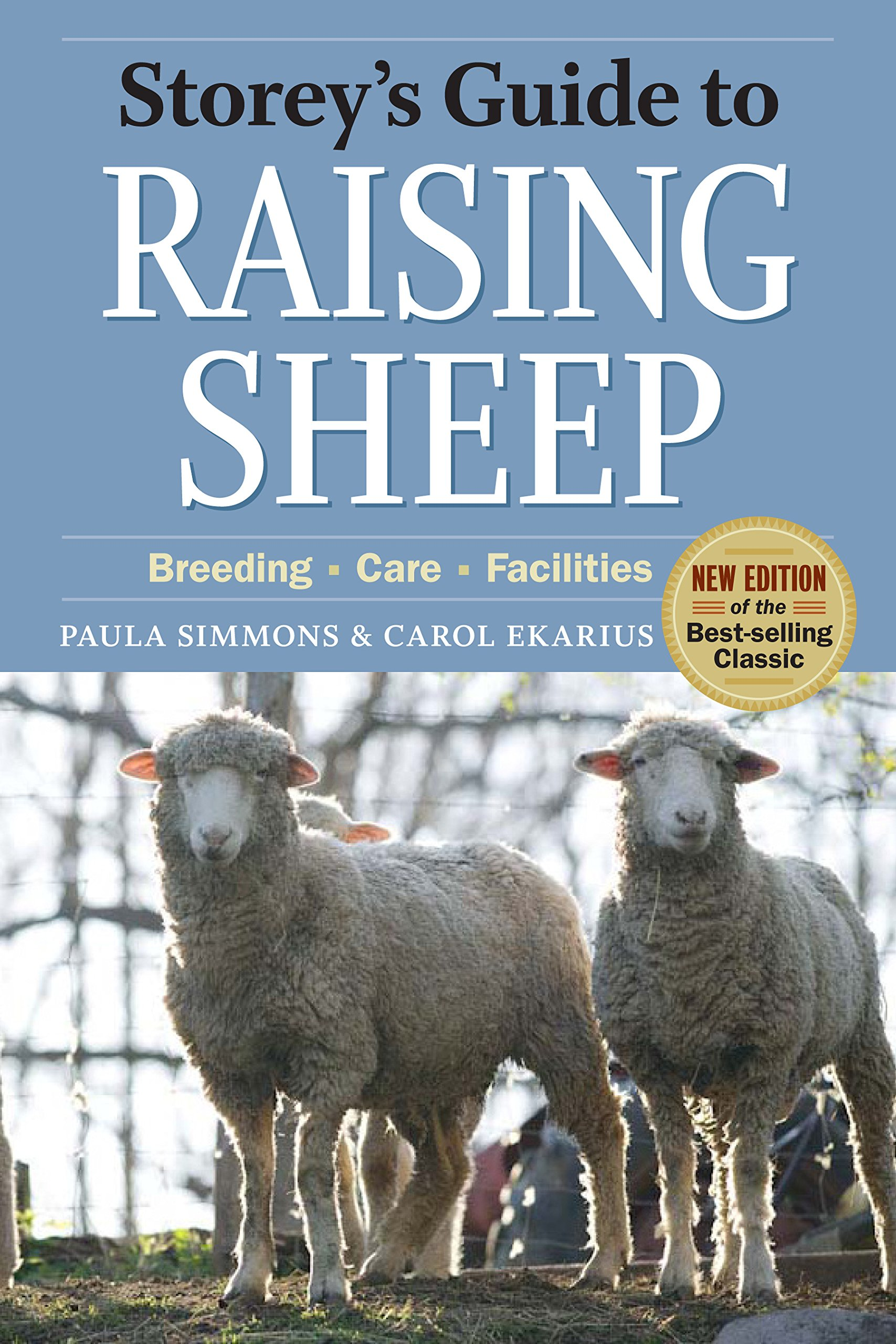 storey s guide to raising sheep 4th edition breeding care rh amazon com Are Hard to Raise Sheep Sheep Halter