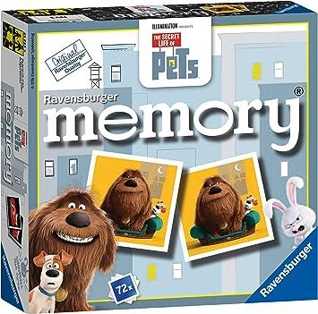 Ravensburger Memory - Juego de Memoria, diseño de La Vida Secreta ...