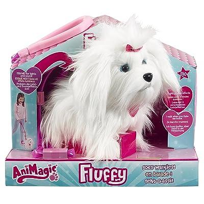 Animagic - 31150.4300 - Peluche - Fluffy en balade 2.0