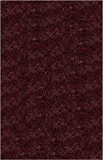 product image for Super Shag Area Rug Shaw Swag Collection Raspberry Jam 9' x 12'