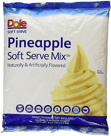 Dole soft serve mix pineapple 440 pound amazon grocery dole soft serve mix pineapple 440 pound ccuart Images
