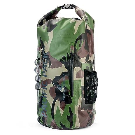 Amazon.com : Pacific Theory Dry Bag - Eco Waterproof Mens Womens ...