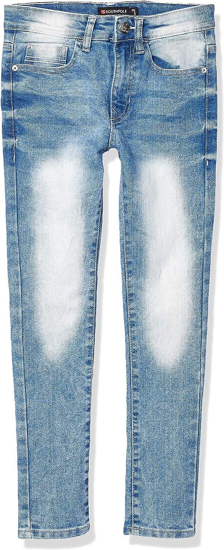 Southpole Boys' Big Signature Stretch Denim Pants