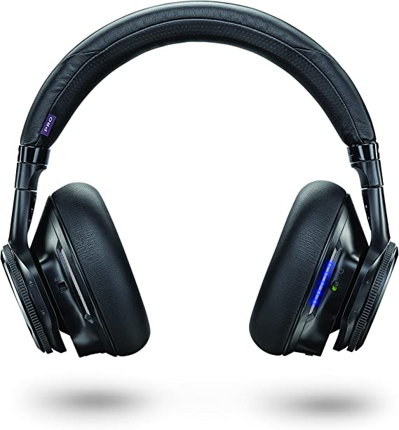 Amazon Com Plantronics Backbeat Pro Wireless Noise Canceling Hi Fi Headphones With Mic Compatible With Iphone Ipad Android And Other Smart Devices