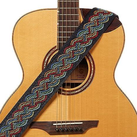 Correa para guitarra estilo vintage, cómoda de 5,7 cm de ancho ...