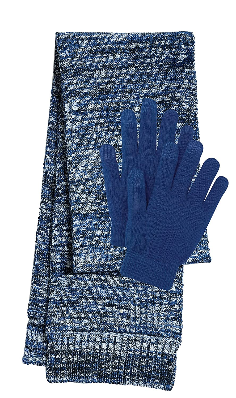 Sport-Tek Women's Glove and Scarf 2 Pack Bundle