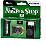 Fujifilm Smile and Snap Single Use Camera with Flash 400/27