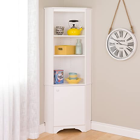Amazon.com: Prepac WSCC-0604-1 Elite Home Storage Corner Cabinet ...