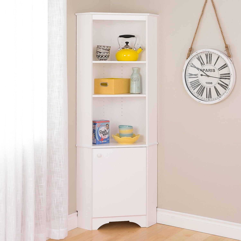 Amazon.com: Prepac WSCC-1777-177 Home, Elite Tall 177-Door Corner ...