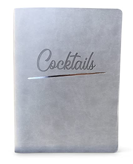 amazon com cocktail journal with blank pages create your own