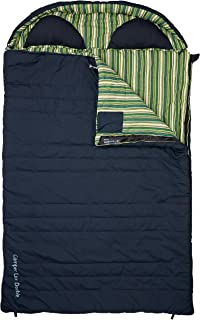 Relags Outwell Green Camper Lux Double Sleeping Bag Blue 235 X 150 Cm