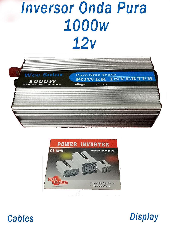 Inverter 1000W/2000W Wellenlänge reine des innerhalb DC 24V to AC 230V Pure Power Inverter + Display
