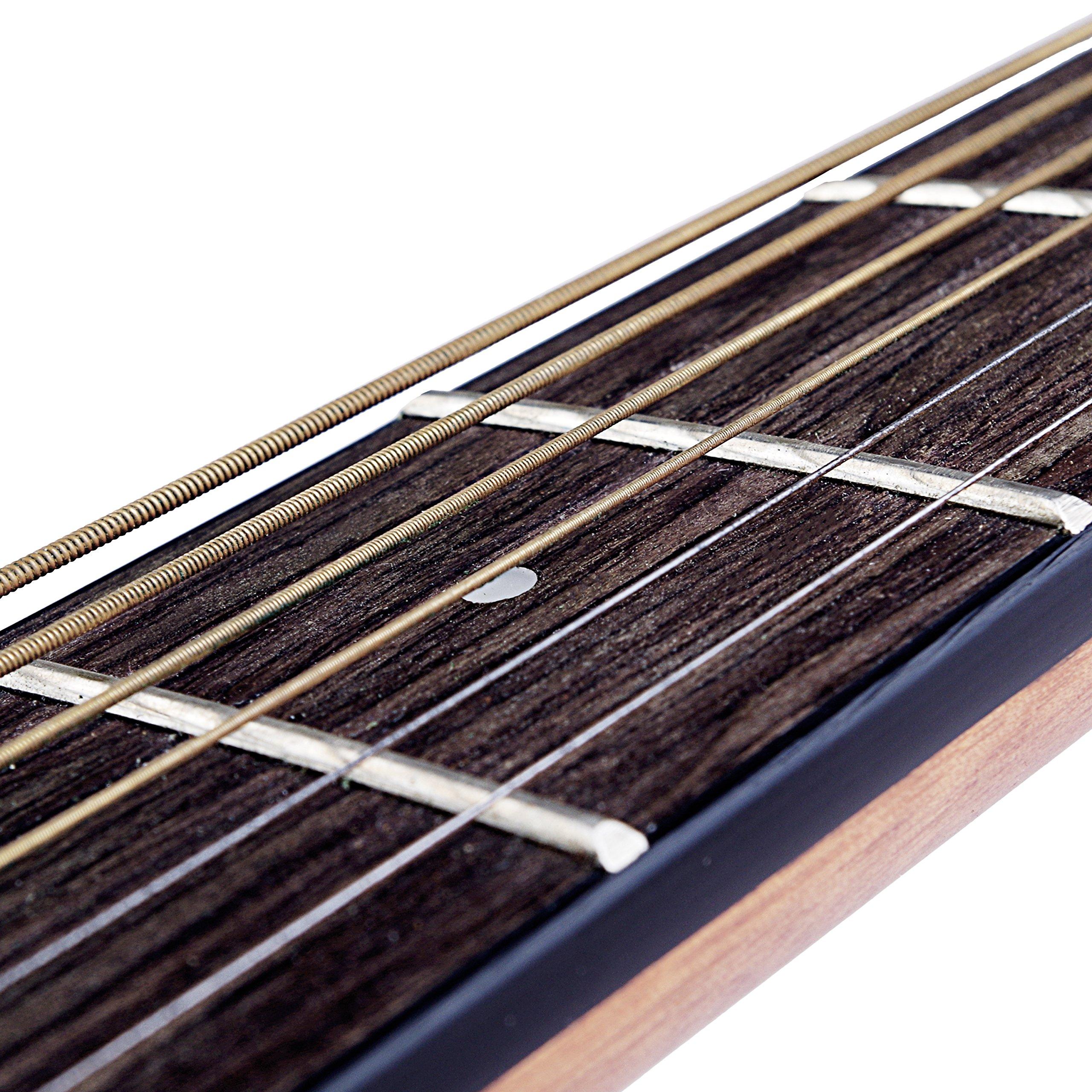 Acoustic Guitar String Mugig Korean Phosphor Bronze and Steel Pack of Two