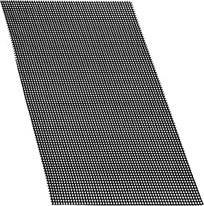 Aboat 5 Pack 30 x 20 cm Rigid Polyethylene Garden's Drainage Mesh Hole Screens
