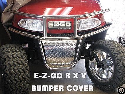 Amazon Com Ezgo Rxv Golf Cart Diamond Plate Front Bumper