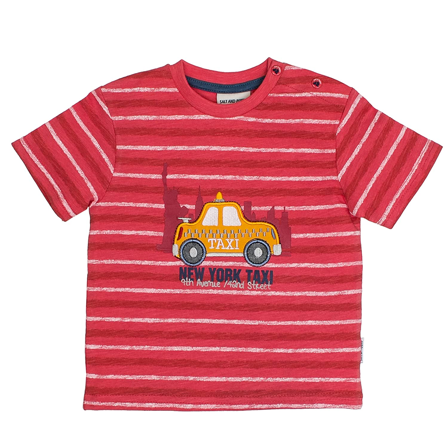 SALT AND PEPPER Baby-Jungen B T-Shirt Just Cool Stripe 83212141