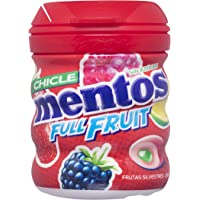 Mentos Chicle Sin Azúcar Full Fruit Bote