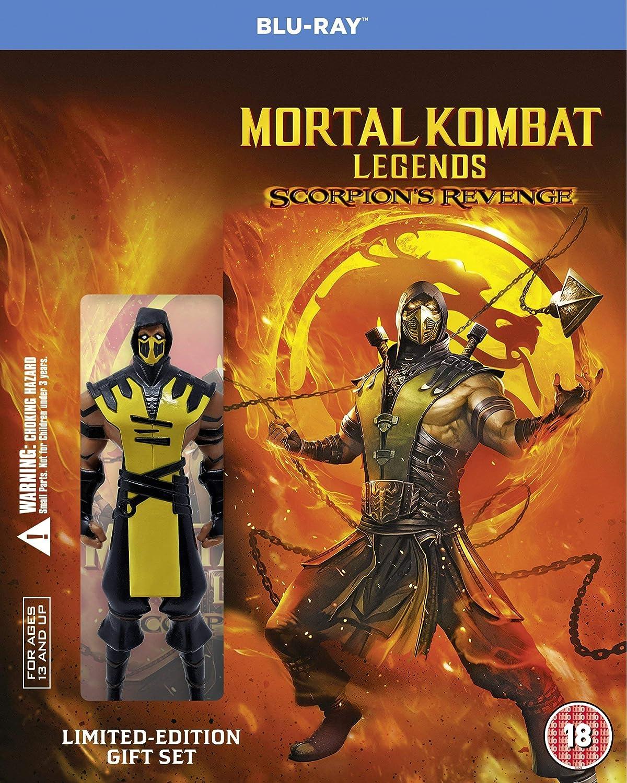 Mortal Kombat Legends Scorpion S Revenge Blu Ray 2020 Region Free