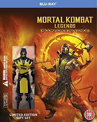 Mortal Kombat Legends Scorpion S Revenge Mini Figurine Edition Blu Ray 2020 Region Free Amazon Co Uk Dvd Blu Ray
